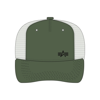 čepice Trucker Cap Small Logo dark green