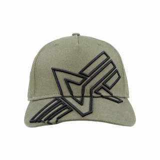 kšiltovka Alpha Cross Cap dark green