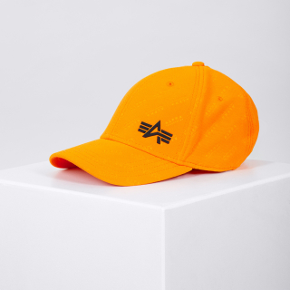 čepice Embossed Cap alpha orange